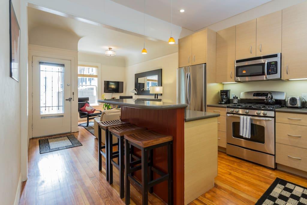 From kitchen looking toward livingroom