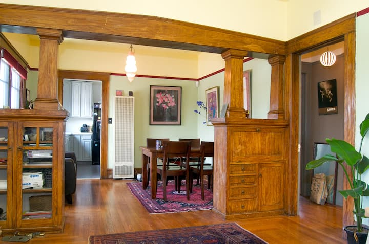 Craftsman owner's unit in duplex