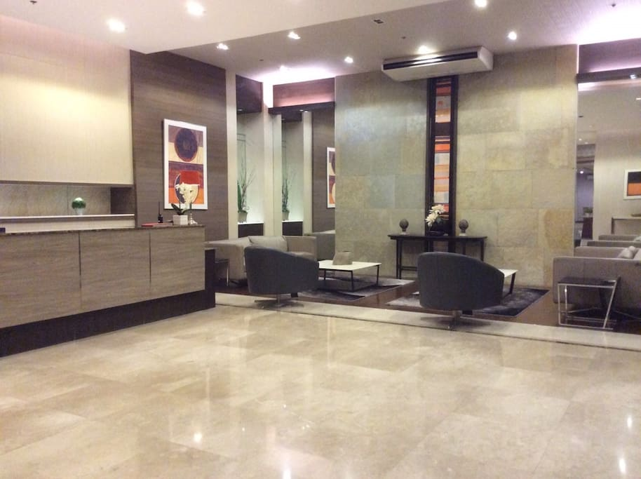 Lobby of Monte Carlo Condominium