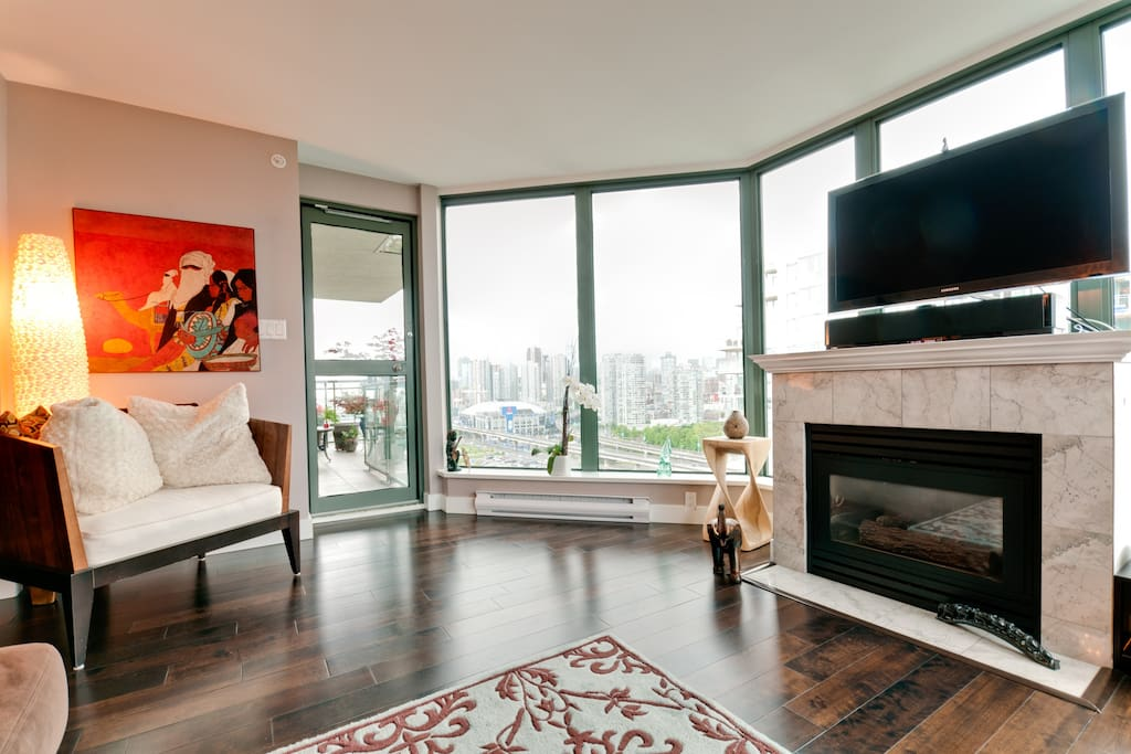 Stunning Central Vancouver View
