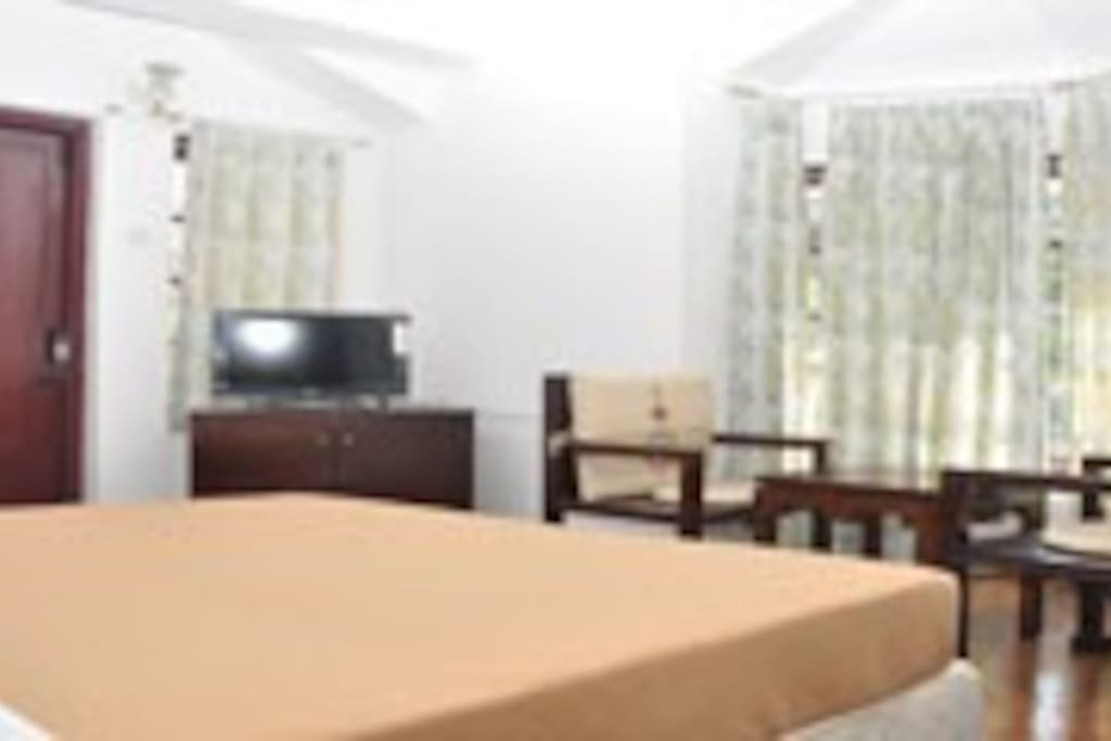 Spacious 2nd bed room with one queen Size Bed