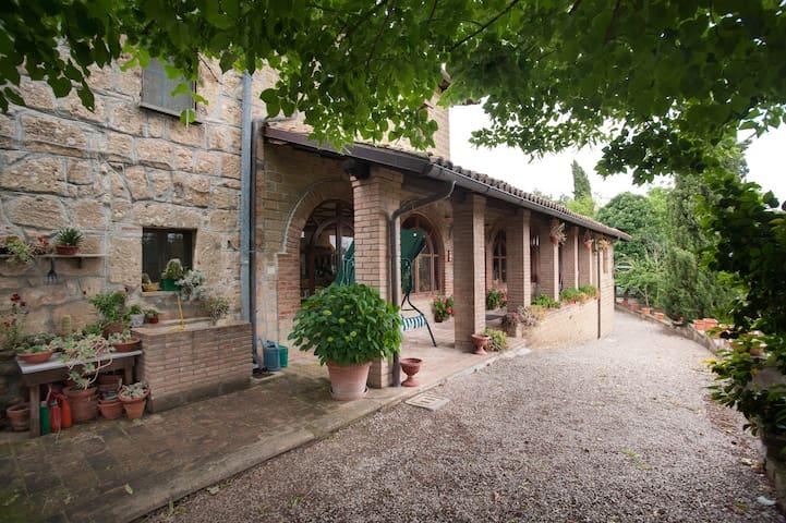 Camera vicino Orvieto e Bagnoregio