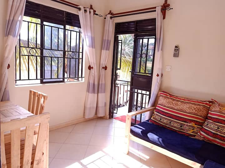 Private one bedroom apartment in Bukasa/Muyenga