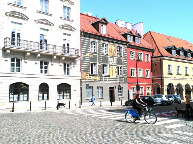 Studio Warszawa - Old Town - Fast Wi-Fi