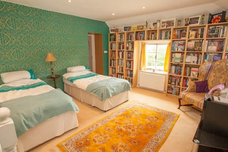 Twin Room in heart of Quantocks - Crowcombe - House
