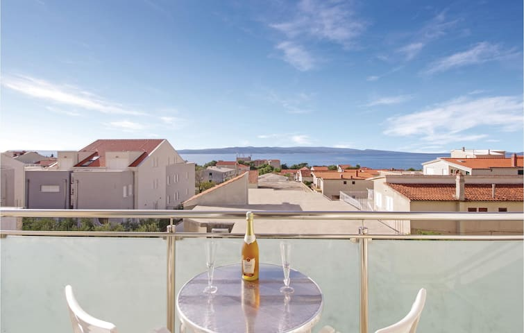 Holiday apartment with 1 room on 23m² in Baska Voda