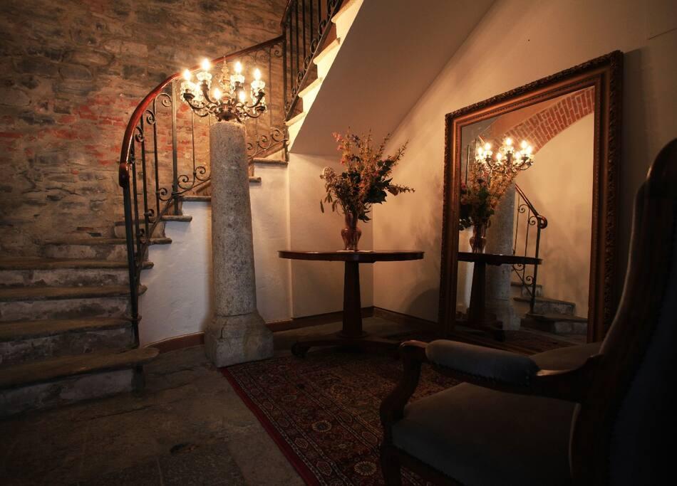 Entrance - Bed and Breakfast Convento Sant'Antonio Lake Como