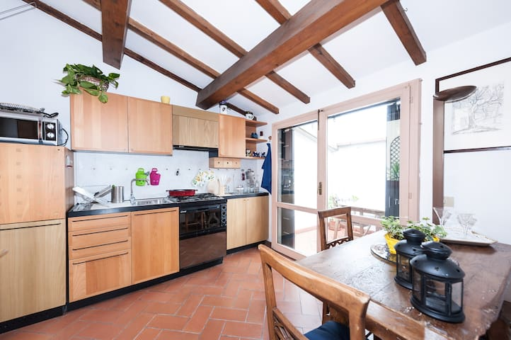Attic apartment central Florence - Firenze - Appartamento