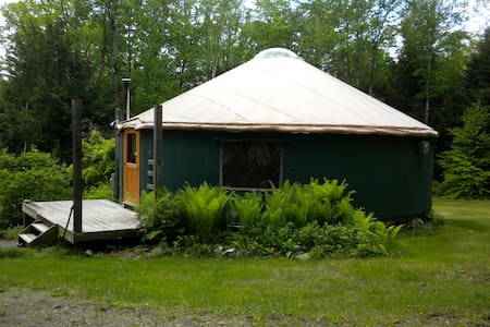 Yurt In The Woods - Hartland