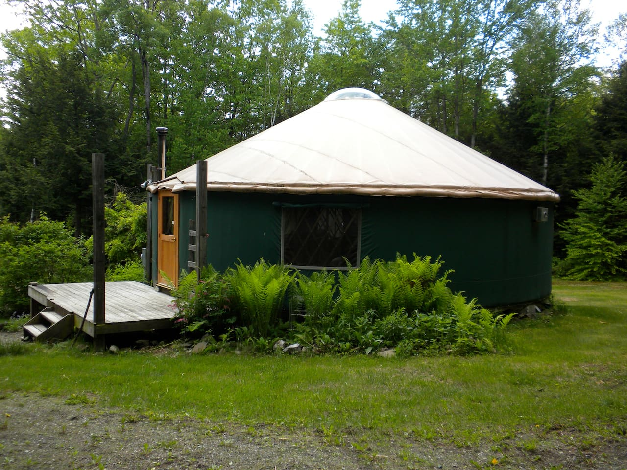 Yurt from Northeast side