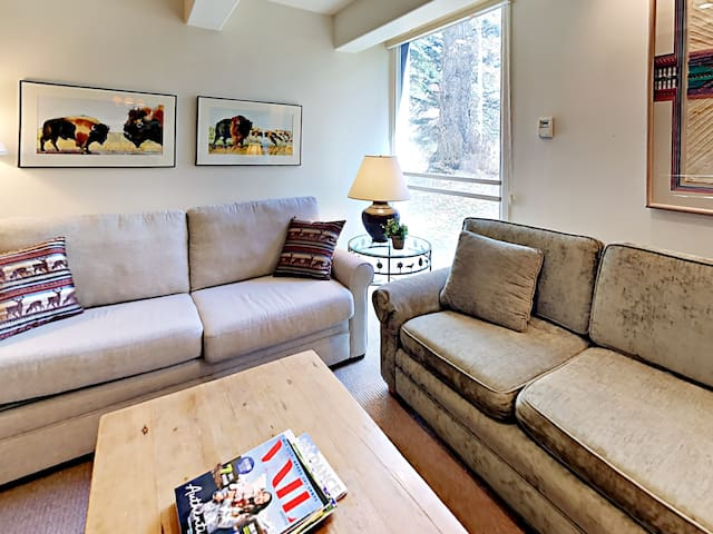 Ideal 2 BD Condo In The Heart of Vail Village