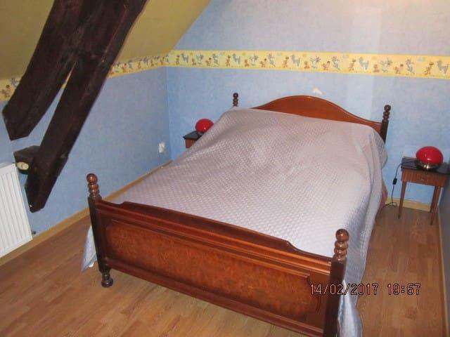 (2)Chambre pour 2 personnes chez l'habitant - Saint-Georges-de-Poisieux - Hus