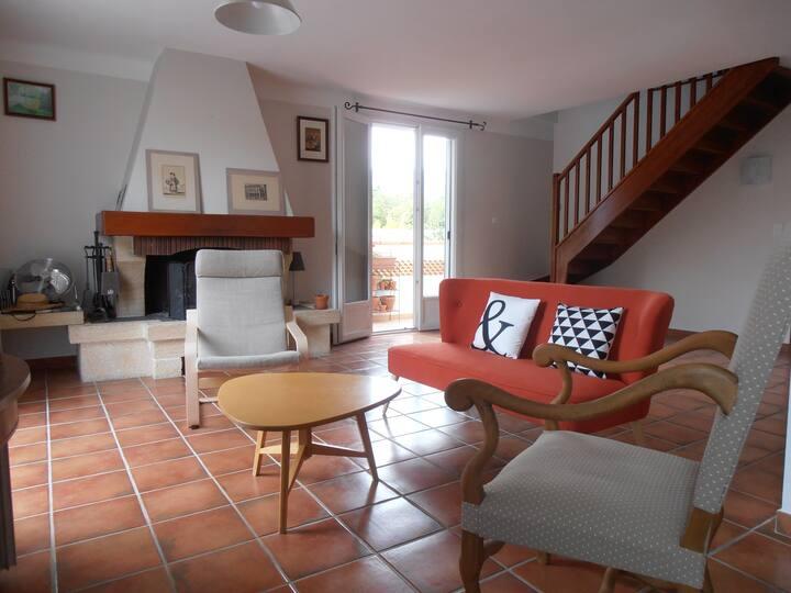 T4 de 115 m² + JARDIN Cap Brun