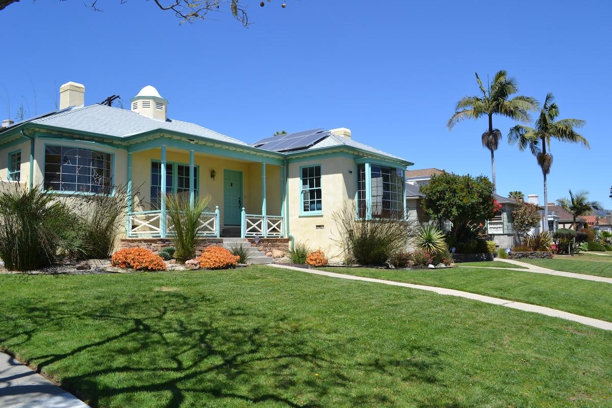 Huis te koop art deco met terras een prachtig uitzicht