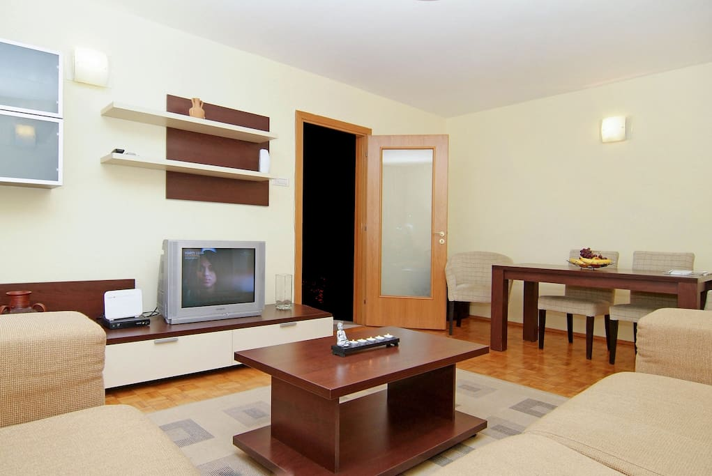 Senia - Two Bedroom Apartment - Cismigiu Gardens -  Living Room