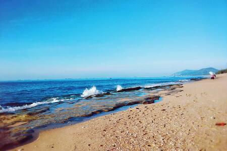 三亚天涯海角海边亲子房,走到海边2分钟,天涯海角附近,有公用厨房可做饭,有电梯有停车场 - Sanya