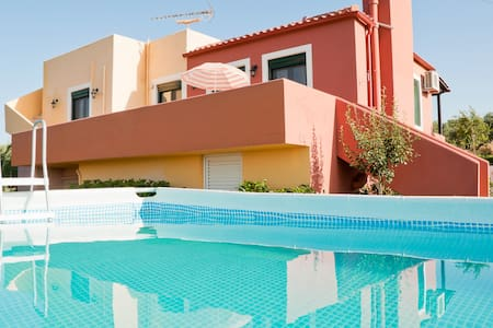 Villa pool & jacuzzi outdoor 10% OFF EARLY BOOKING - Platanias