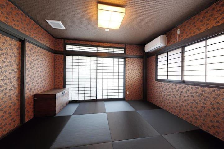 熊本観光に。繁華街まで徒歩10分!男女共用和室(シェアルーム)