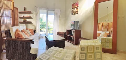 Penthouse studio center of Cabarete