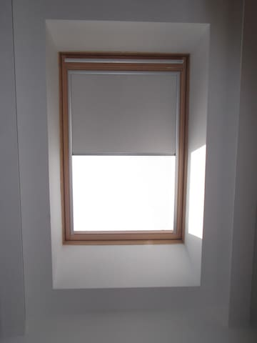 new window curtains installed to protect you from the sunlight 8)))