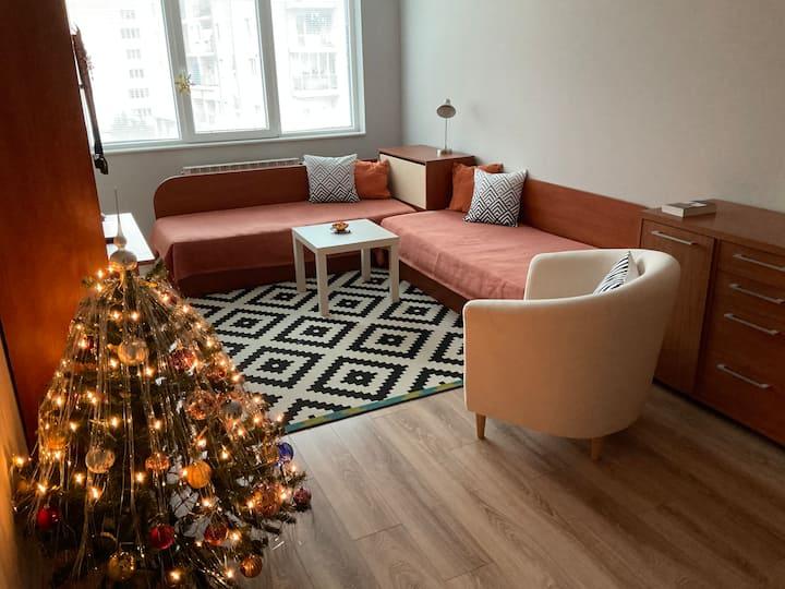 Twin Bedroom near Business Park Sofia