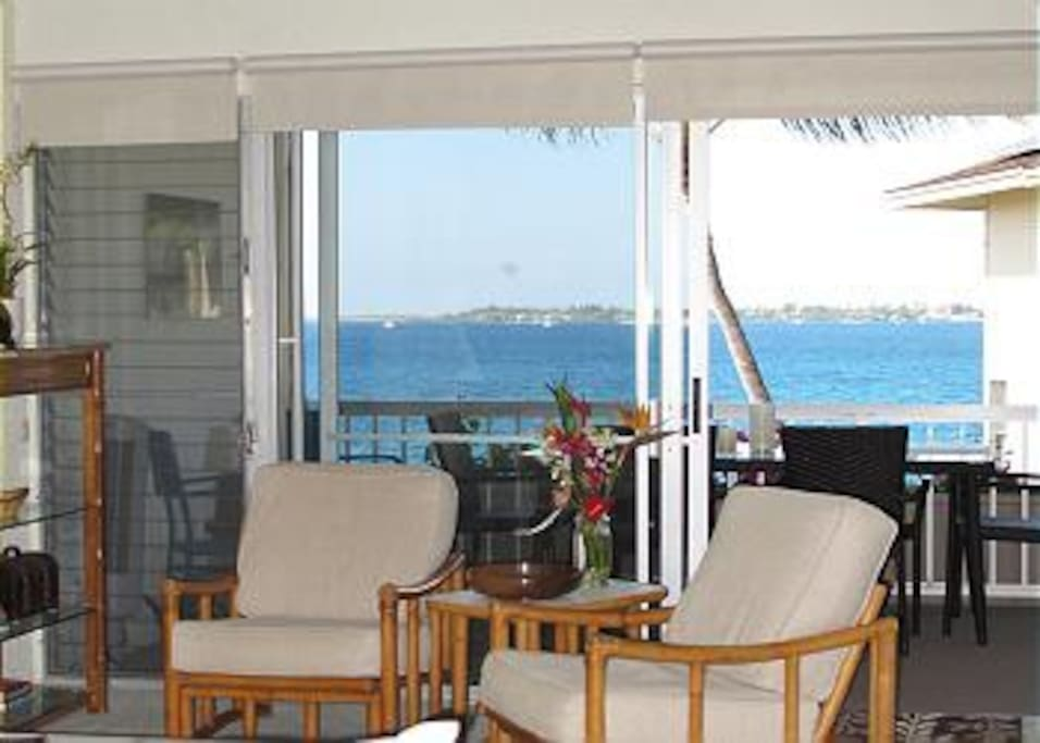 Ocean Views from the Living Area