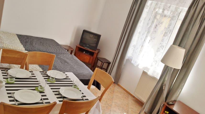 CZARNY BURSZTYN  apartament 150m od morza - Dziwnówek
