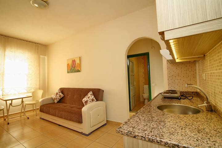 Cozy flats 25 mt to the beach in Alanya (3)