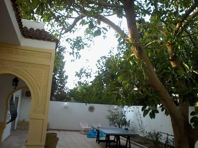 Maison de charme au bord de la mer - Monastir - Villa