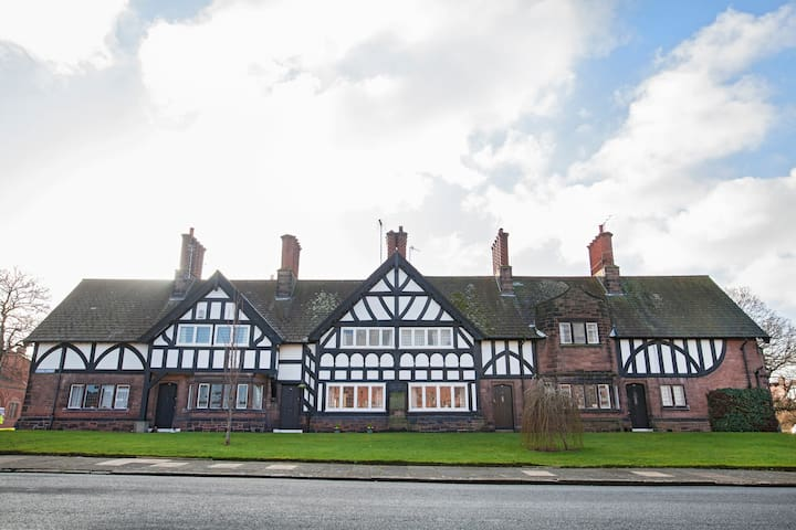 Port Sunlight Cottage designed by William Owen