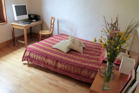 Double bedroom 15km from Geneva - Pers-Jussy - Bed & Breakfast
