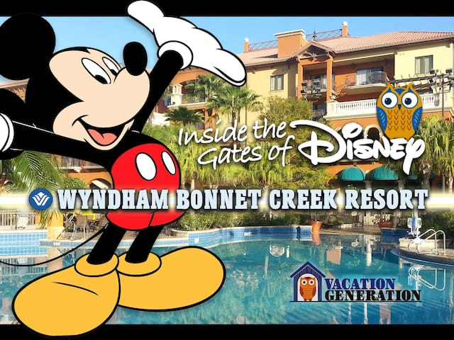 Wyndham Bonnet Creek  ツ 1 Bedroom Deluxe!