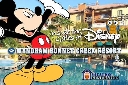 Wyndham Bonnet Creek ツ 1 Bedroom Deluxe