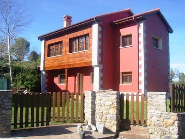 Bonita casa en Ribadesella, 3 hab - Ribadesella - Casa