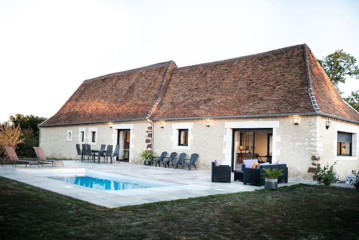 Gîte avec piscine entre Périgueux et Lascaux