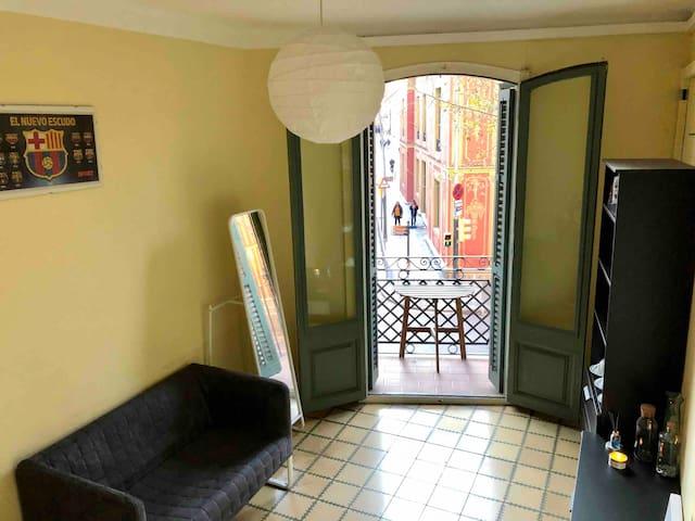 Private room Super central