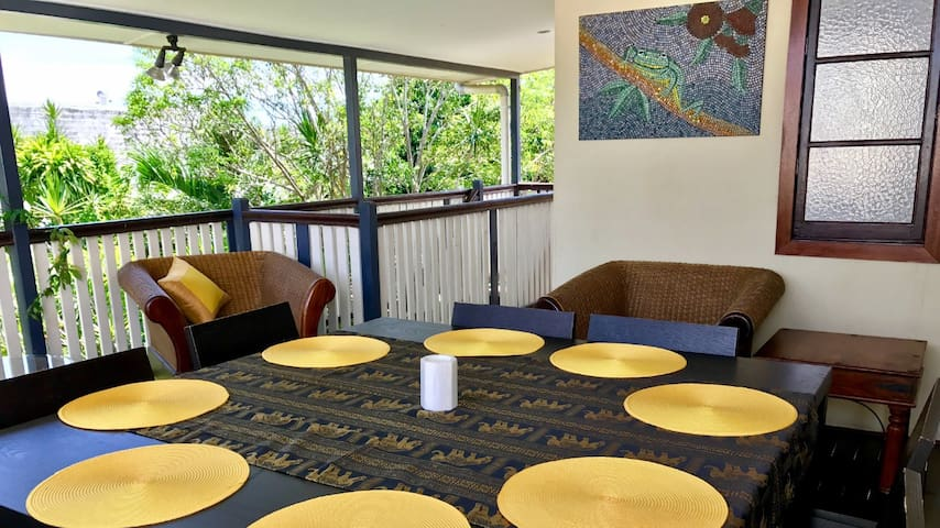 CHIC INNER City QLD Spa Bath, 8 people flat price - Parramatta Park - Haus