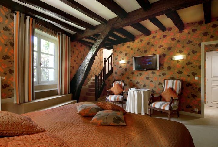 Chambre Supérieure dans le Château de Colette
