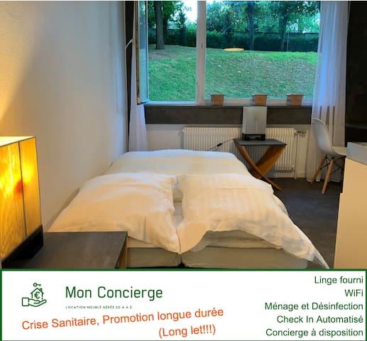 Bel appartement dans résidence à Lyon