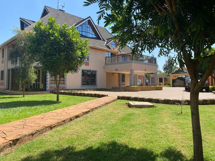 Serene country home in Thika