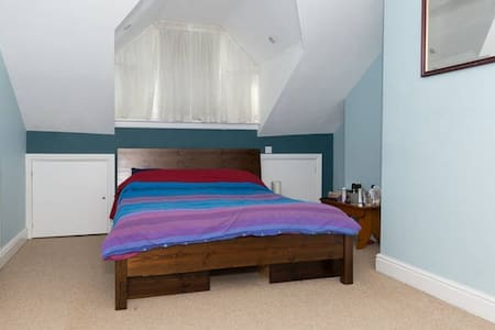 Large converted attic room - Sheffield