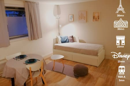 ♥Lovely apartment near Paris and Disneyland park♥