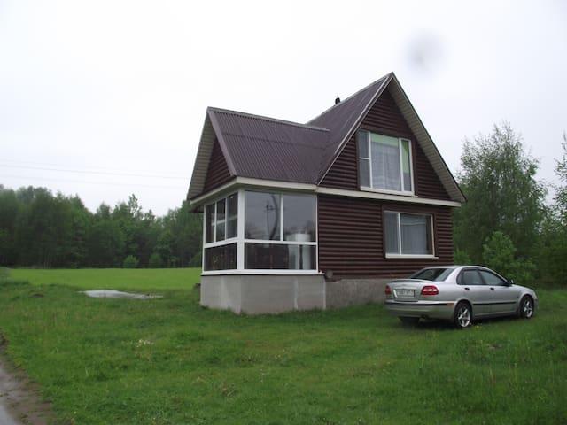 Домик на берегу озера - Damaškavičy - House