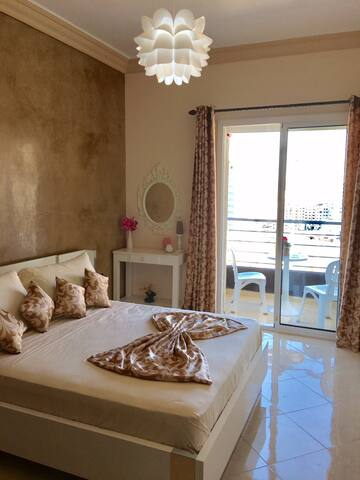New Apartment in the Heart of Tangier (Corniche) - Tanger - Pis