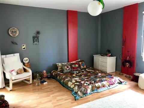 Peacefull room, close to Belgrad forest&black sea