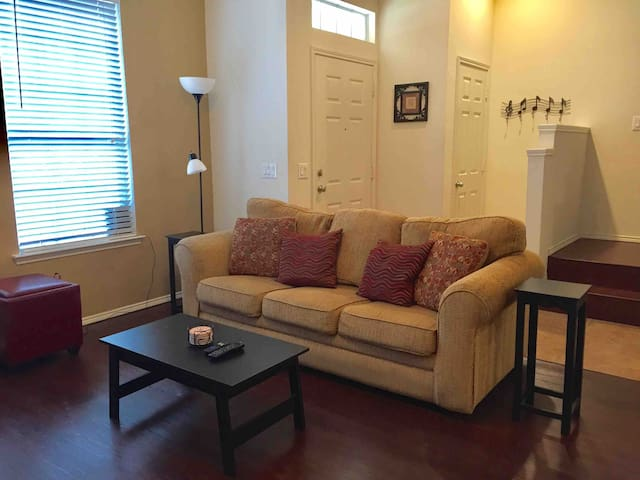 Living Room with Sofa bed