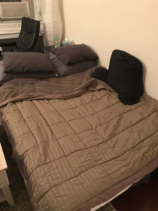 Pull out couch as a bed