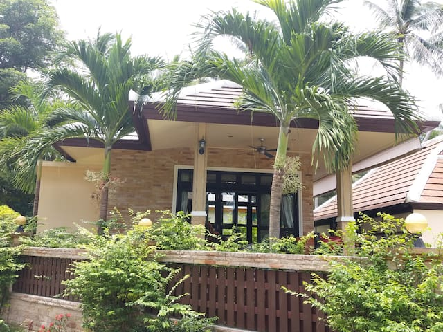 Bang Kao bungalow.  3 minute walk to beach