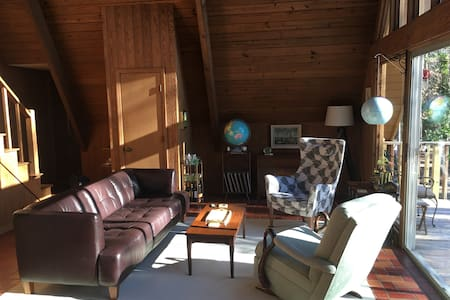 Callaway Calling, Restorative Midcentury Retreat - Pine Mountain - 小木屋