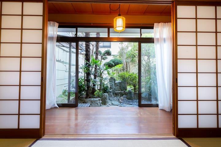1 min Kuromon market 2 bed room Big house #SJ47